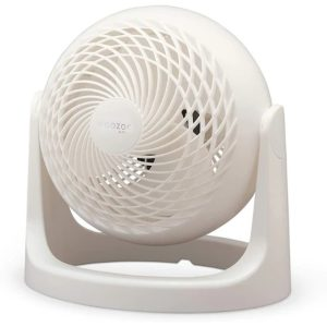 Iris Ohyama erőteljes és csendes asztali ventilátor (fehér) – PCF-HE15