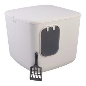 Iris macska alomdoboz box (fehér) – CCLB-500