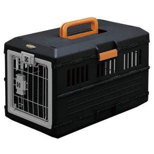Iris Pet Carry kisállat hordozó (fekete-narancssárga) – FC-550